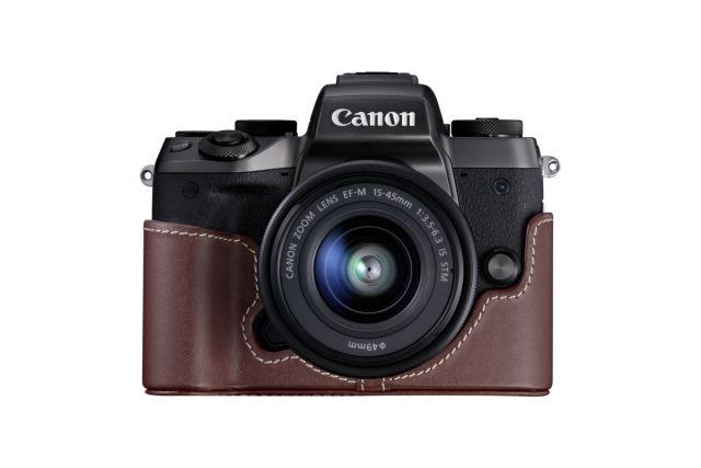 EOS M5 WEF M 15 45 CameraJacket EH29 CJ BR FRT