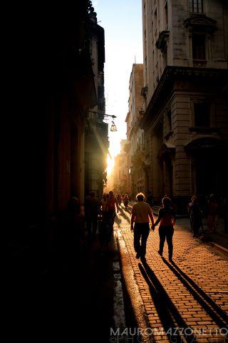 Por la tarde en calle Obispo